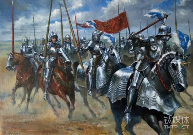 图丨中世纪骑士