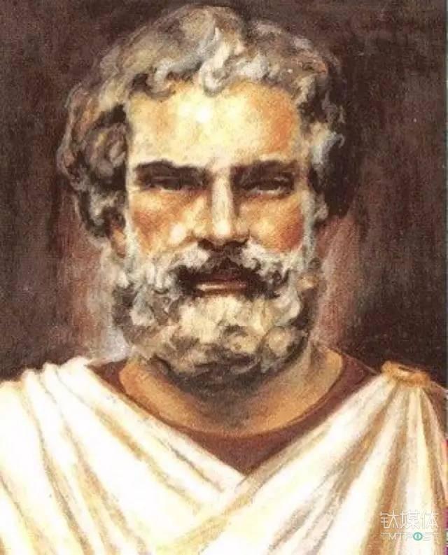 图丨古希腊科学家泰勒斯