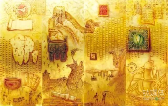 图丨中国古代四大发明
