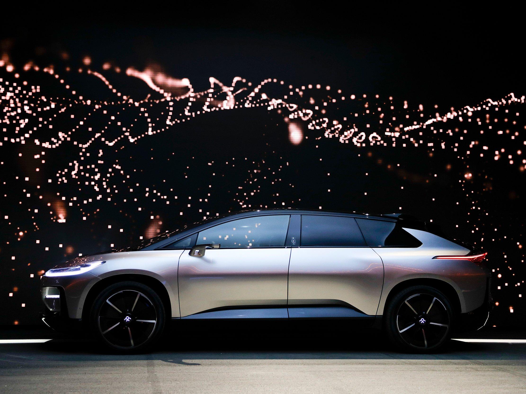 法乐第FF91概念车。图片来源/jalopnik.com