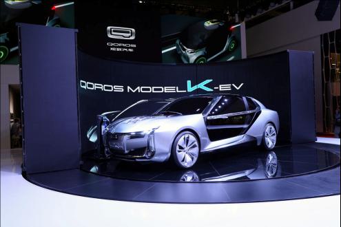 康得新欧洲汽车轻量化设计中心进行全碳纤维车身设计的观致超级电动车MODEL K-EV