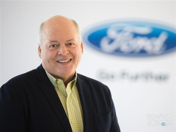 福特新任CEO Jim Hackett。图片来源/3ders.org