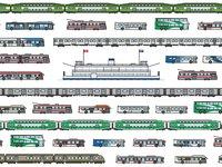 外国设计师做了一张图,看中国地铁30年发展历程