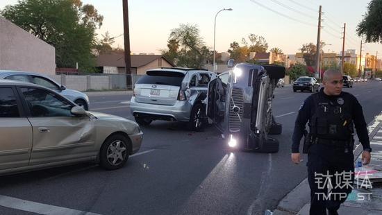 Uber自动驾驶汽车在美国亚利桑那州Tempe发生撞车事故