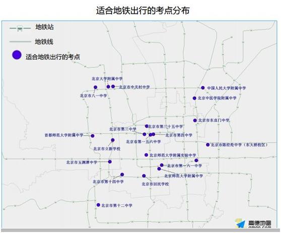 上海适合地铁加骑行的考点有市三女中、复旦中学、徐汇中学、继光中学等;适合地铁出行的考点有市东中学、市西中学、向明中学、南洋中学等。