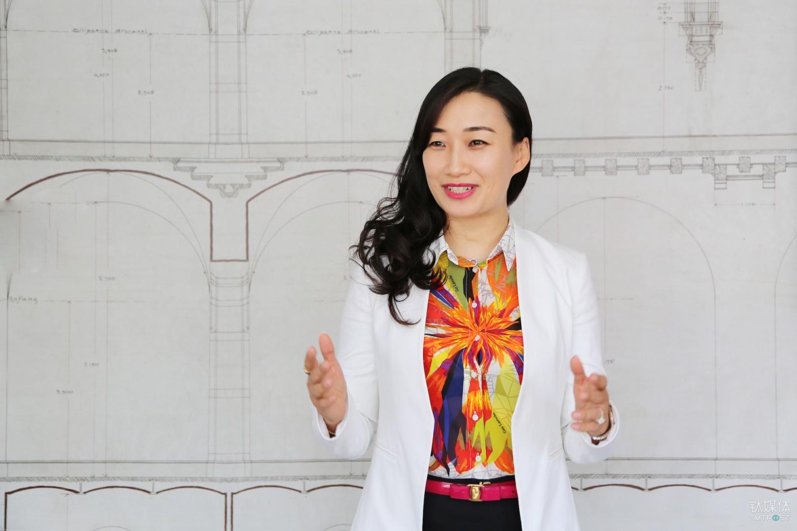 Feng Zhongqian, standing vice manager of Information Management Center of Wanda Group