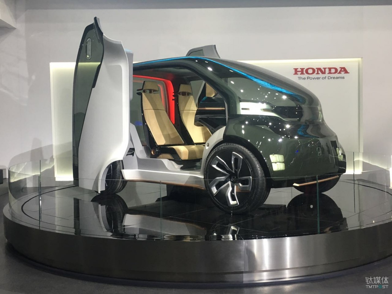 电动概念车Honda NeuV