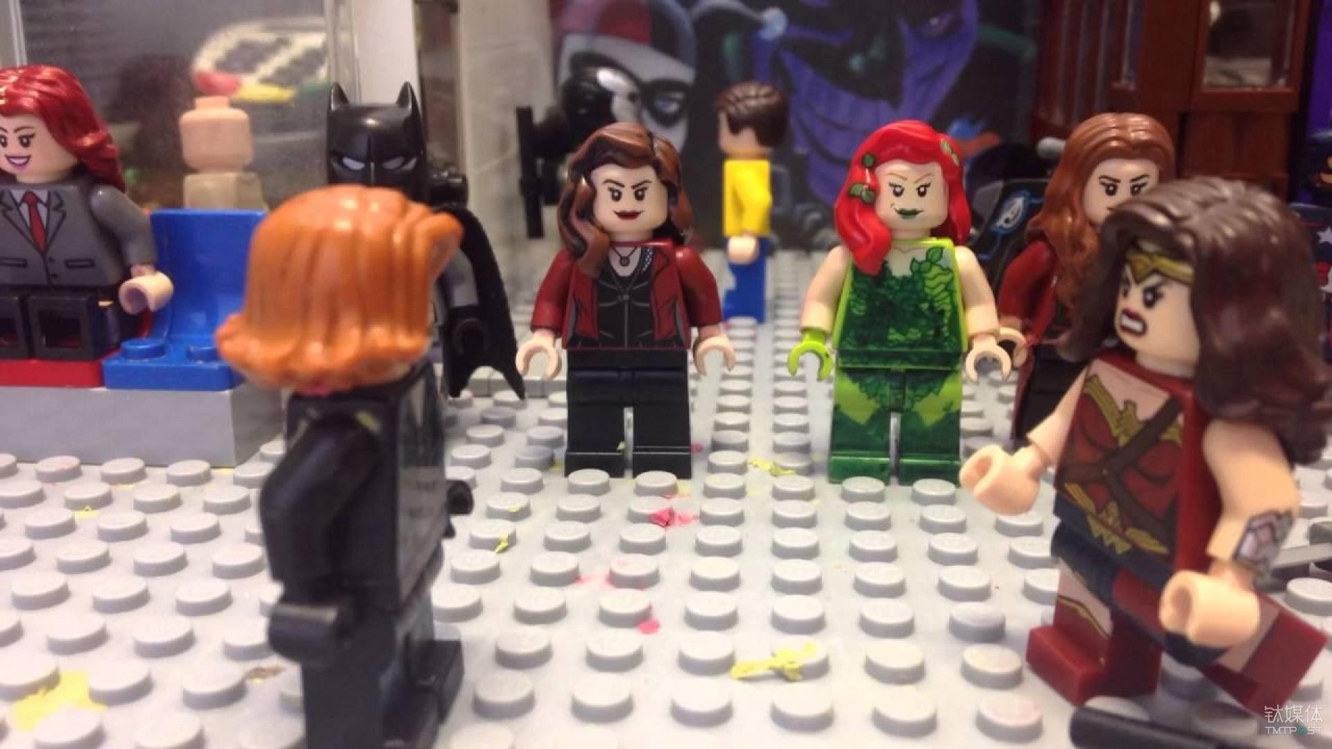黑寡妇和神奇女侠对应的消费习惯文化背景不同甚至有着极大鸿沟的用户