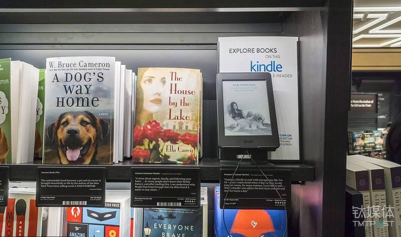 在售书籍在亚马逊网站评分均超过四星
