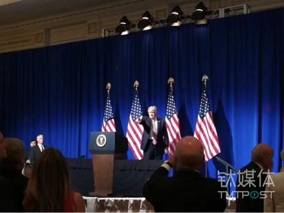 特朗普总统晚宴演讲中