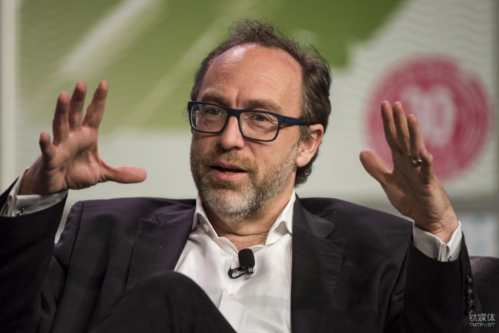 维基百科创始人Jimmy Wales。图片来源/techcrunch