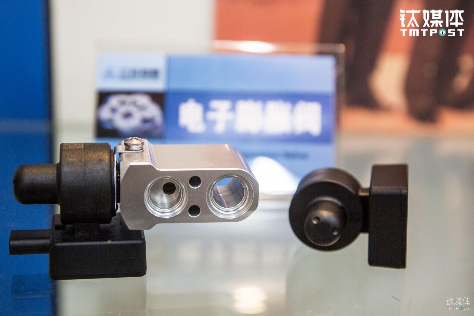 三花研发的汽车空调电子膨胀阀