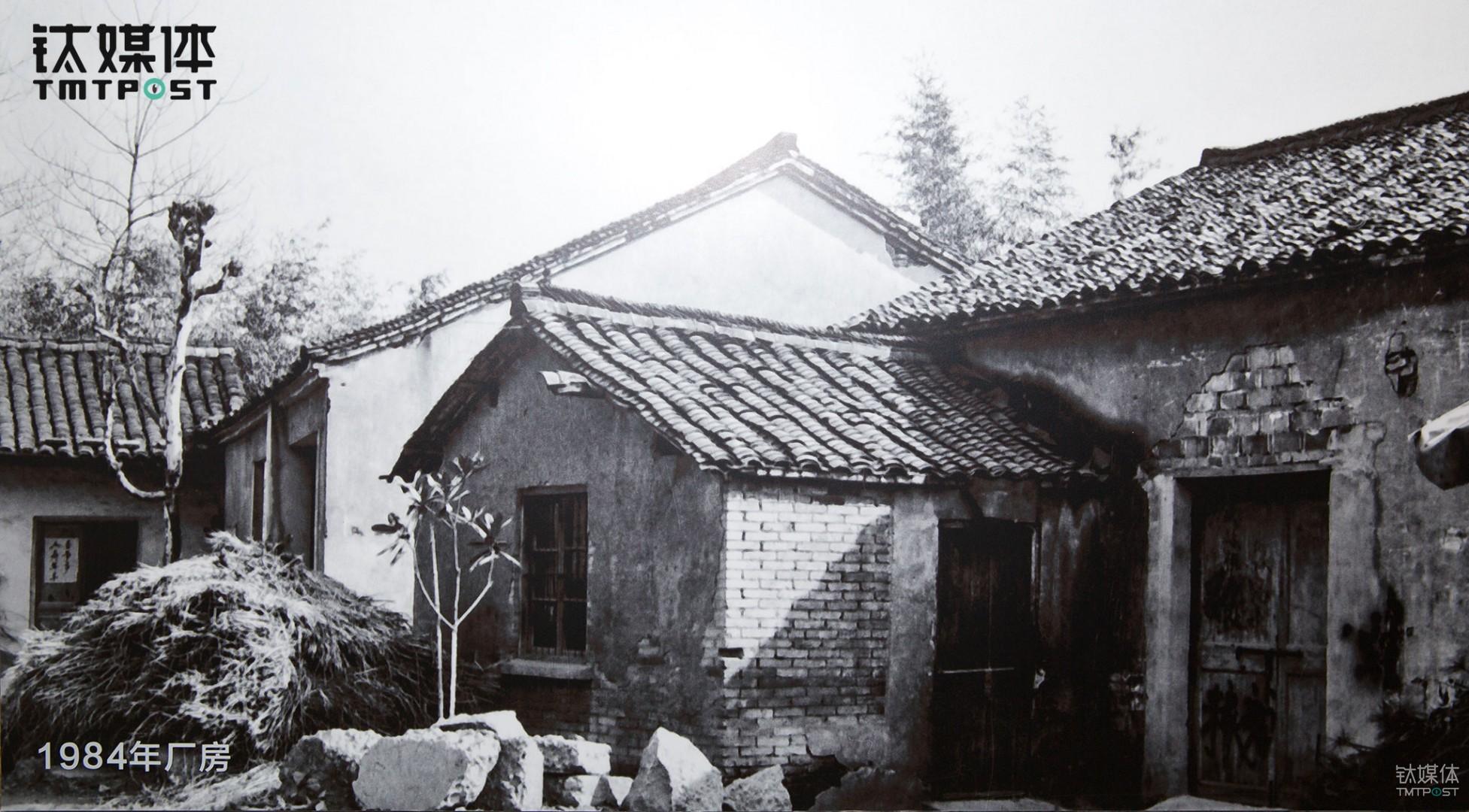 浙江省新昌县一间厂房,三花的故事是在这里展开的