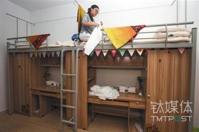 共享宿舍,图片来源视觉中国