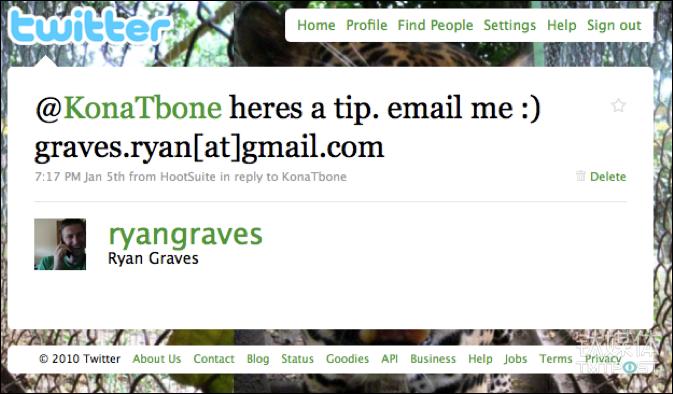 "Ryan Graves回复卡拉尼克的求职推,和陌生人说话让他成了亿万富翁。小提示:不要因为3天没有互相关注朋友圈就删掉一个人,""弱关系""其实很值钱。图片来源/Twitter"