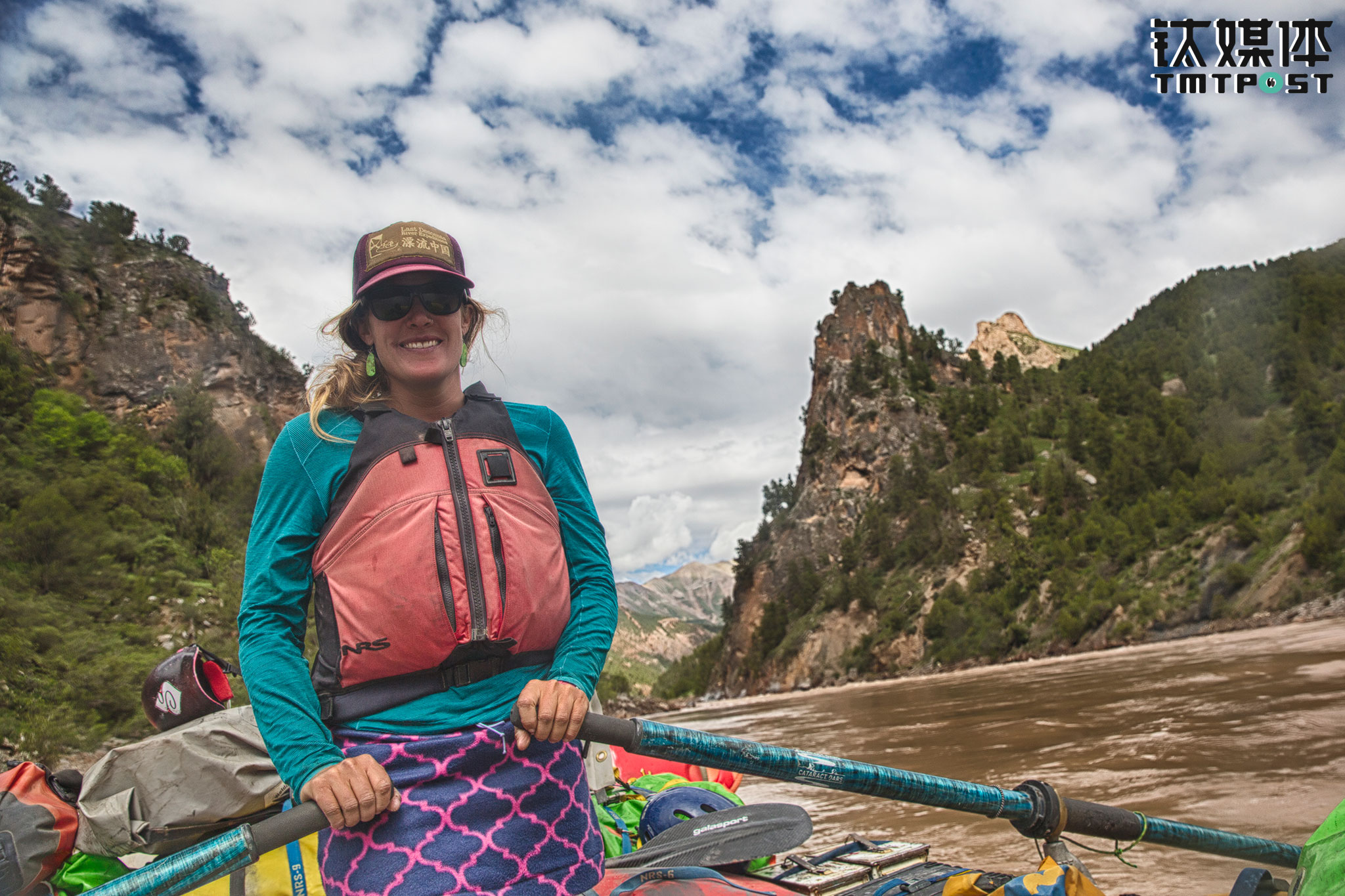 "During April to October each year, Kristin would be rafting on different rivers of the U.S. and China. ""I leave home every spring. I won't be able to see my family until eight months later,"" she said, telling TMTPost that her families didn't really understand her career choice at first. ""The turning point was the time I took my mom to raft on a river. This is not an ordinary job. My mom saw the power rivers give me. She saw that I am happy on the river and started to understand my choice of option."""