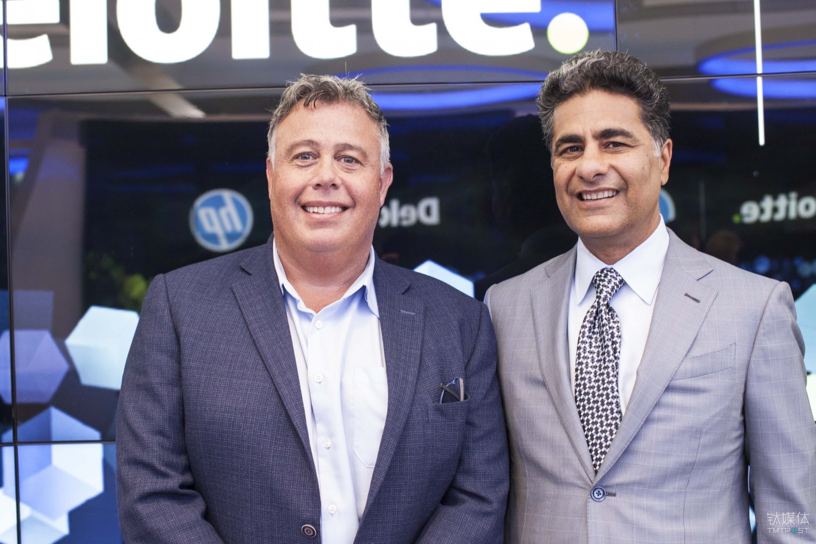 HP CEO Dion Weisler CEO Punit Renjen Deloitte Global CEO