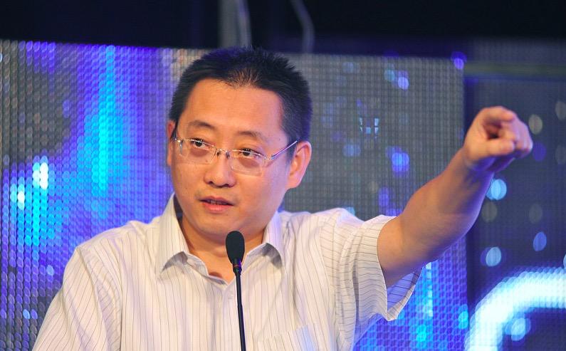 乐视网CEO梁军,来源:视觉中国