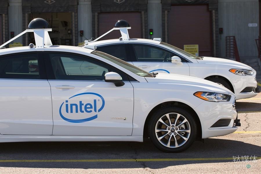 Intel与Mobileye组建的车队