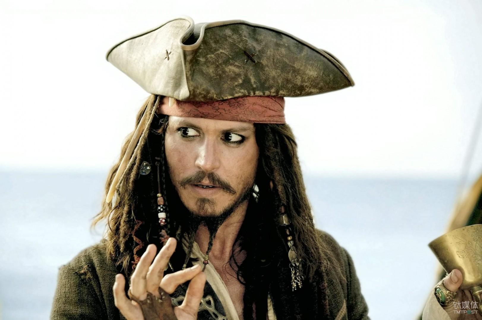 《加勒比海盗》中的杰克·斯帕罗是典型的反英雄形象