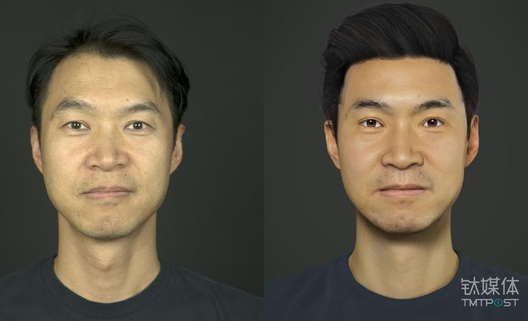 ObEN COO Adam Zheng(左)及他的PAI(右)