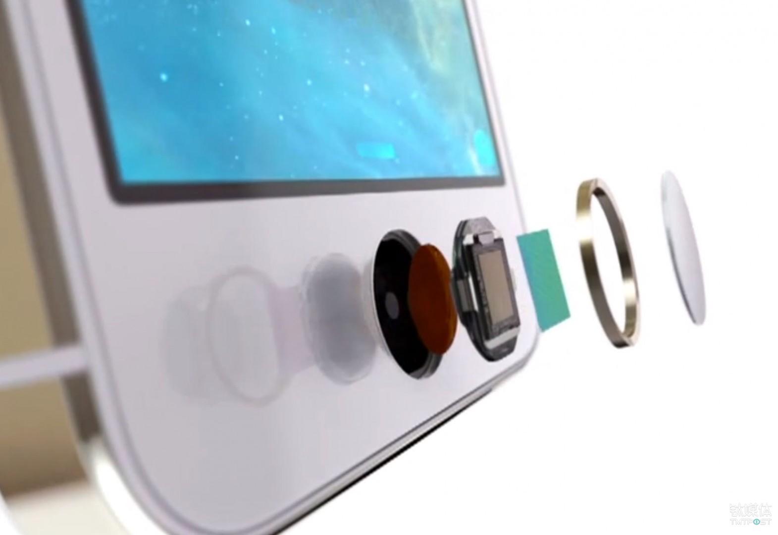 首次引入生物识别的 iPhone 5s