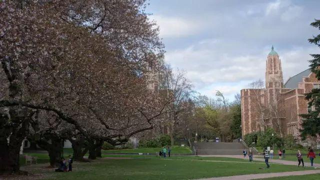 与亚马逊总部几公里之隔的华盛顿大学
