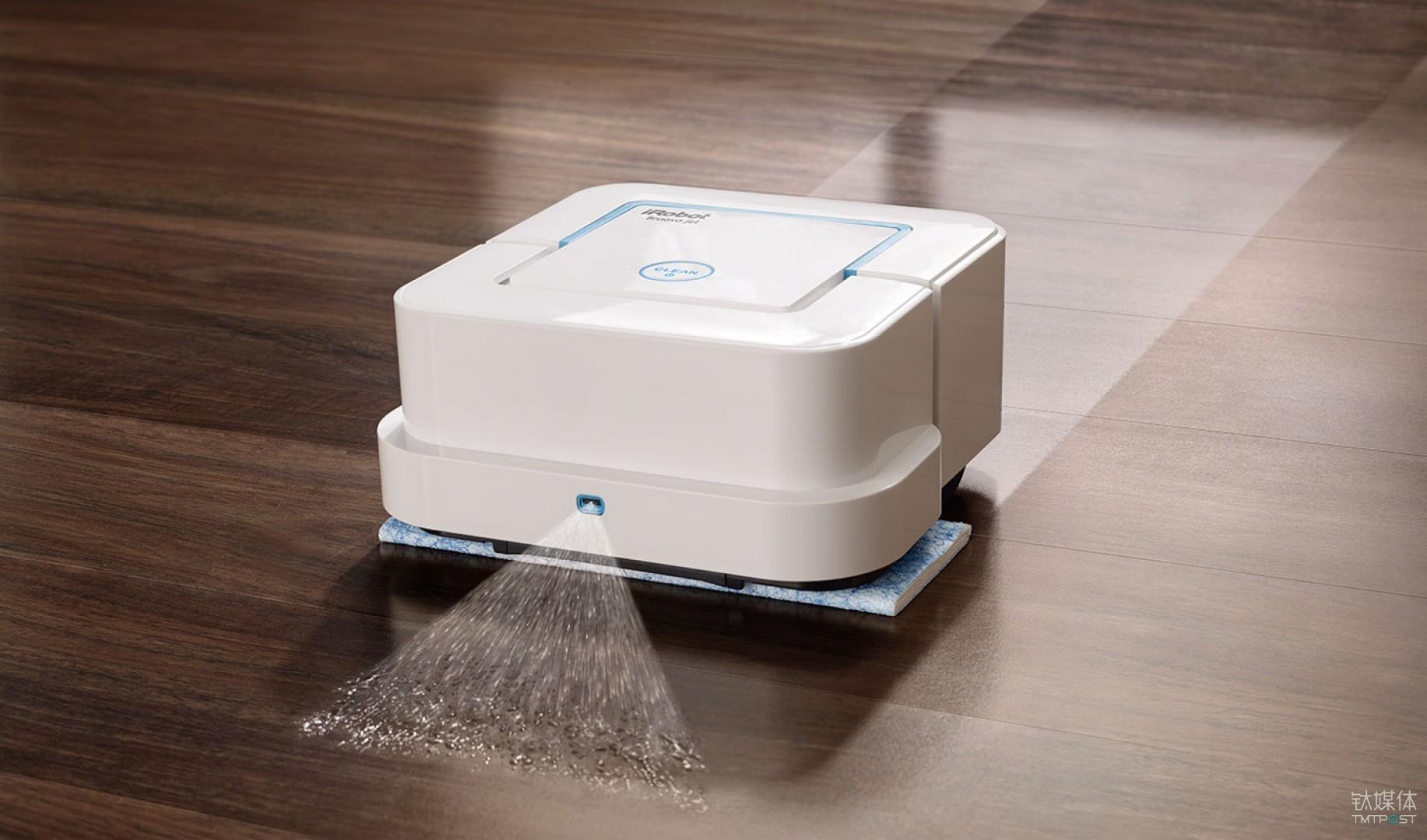 Braava jet 喷水擦地机器人