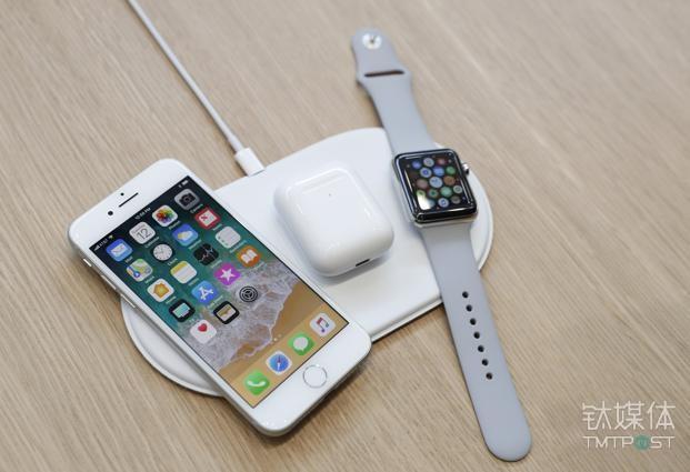 苹果无线充电枕