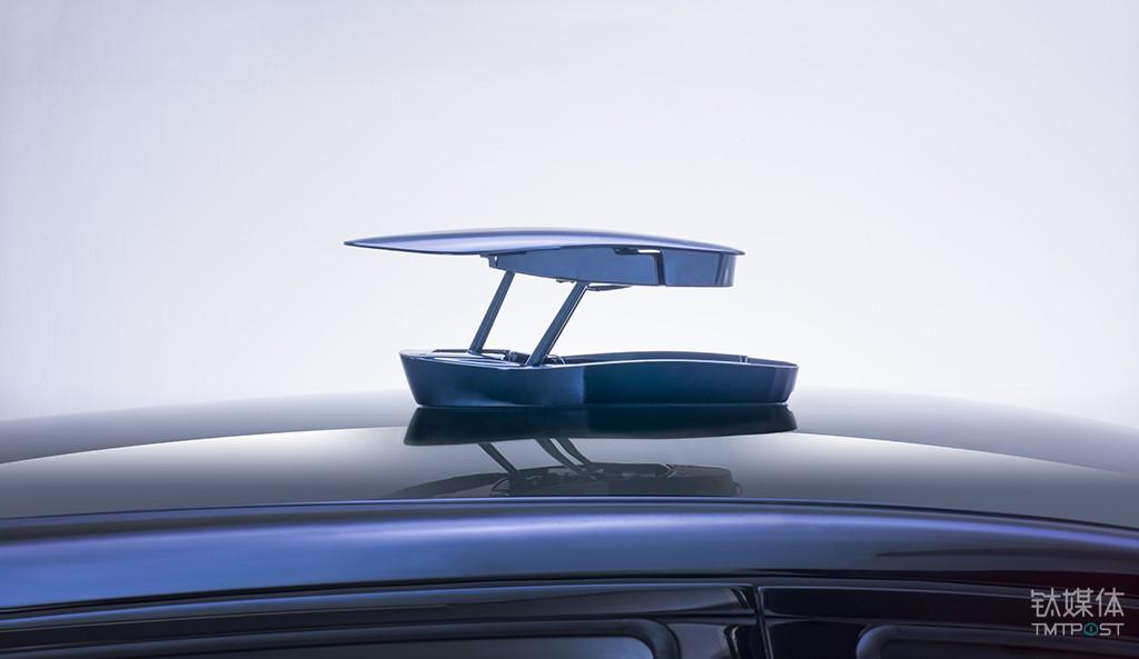 小鹏汽车车顶摄像头