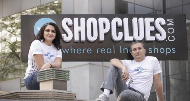 Radhika Aggarwal和 Sanjay Sethi ,前者是ShopClues联合创始人及CBO,后者是ShopClues联合创始人及CEO