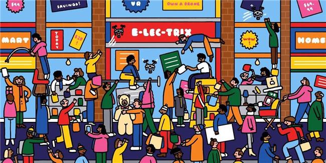 挤进人堆开门店,为什么流量那么重要?