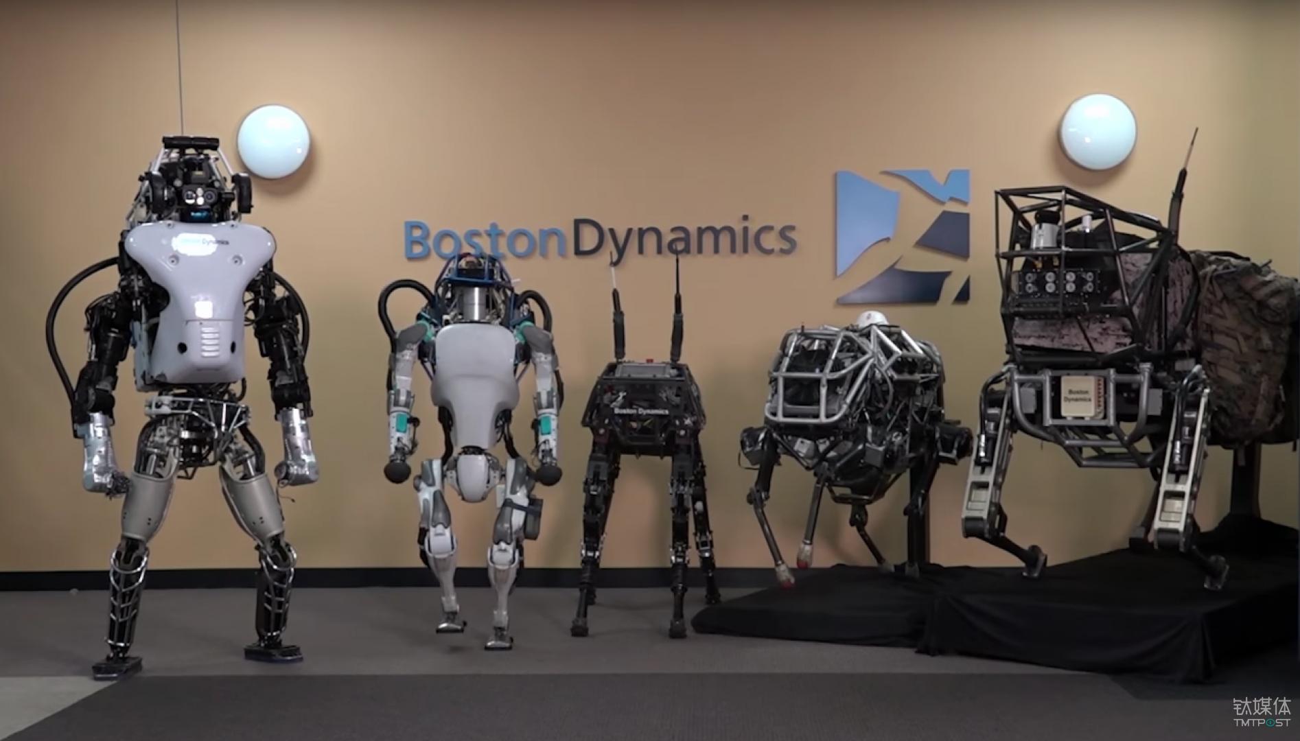 Boston Dynamics 最终被 Google 以商业收益原因出售