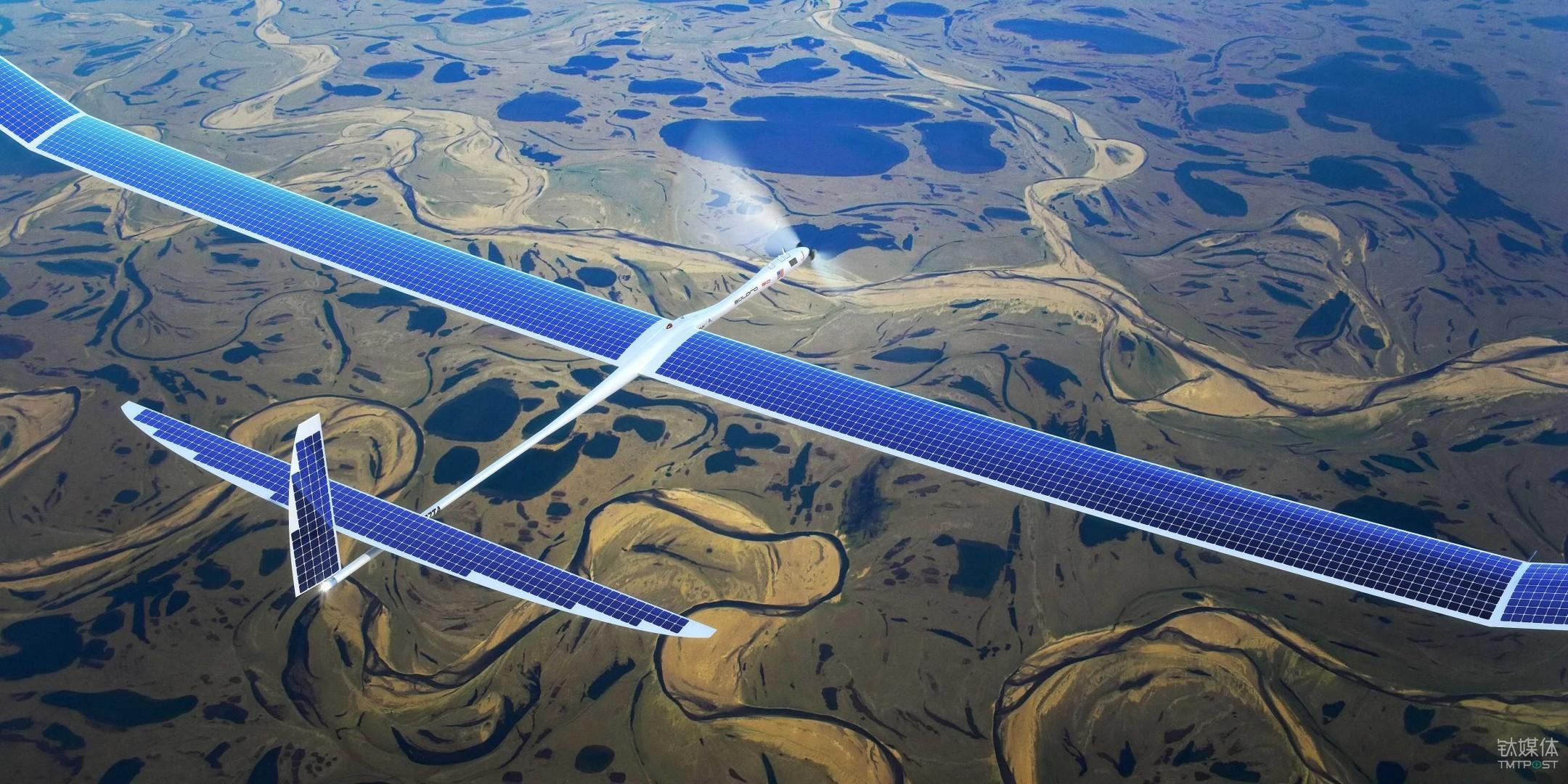 Titan Aerospace 的 Solara 太阳能飞机