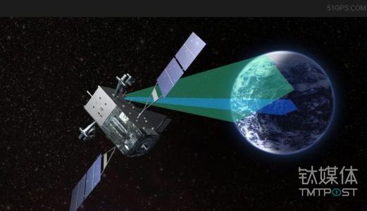 卫星与地球的轨道距离越远,覆盖范围就越到,一般三颗大卫星就可以辐射全球。