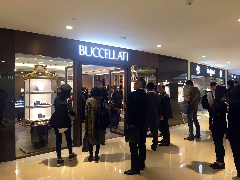 Buccellati位于上海恒隆广场的精品店