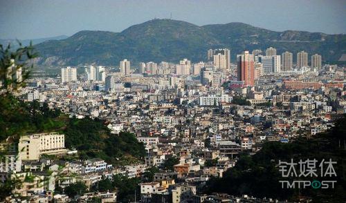 中国正在经历大规模城市化发展