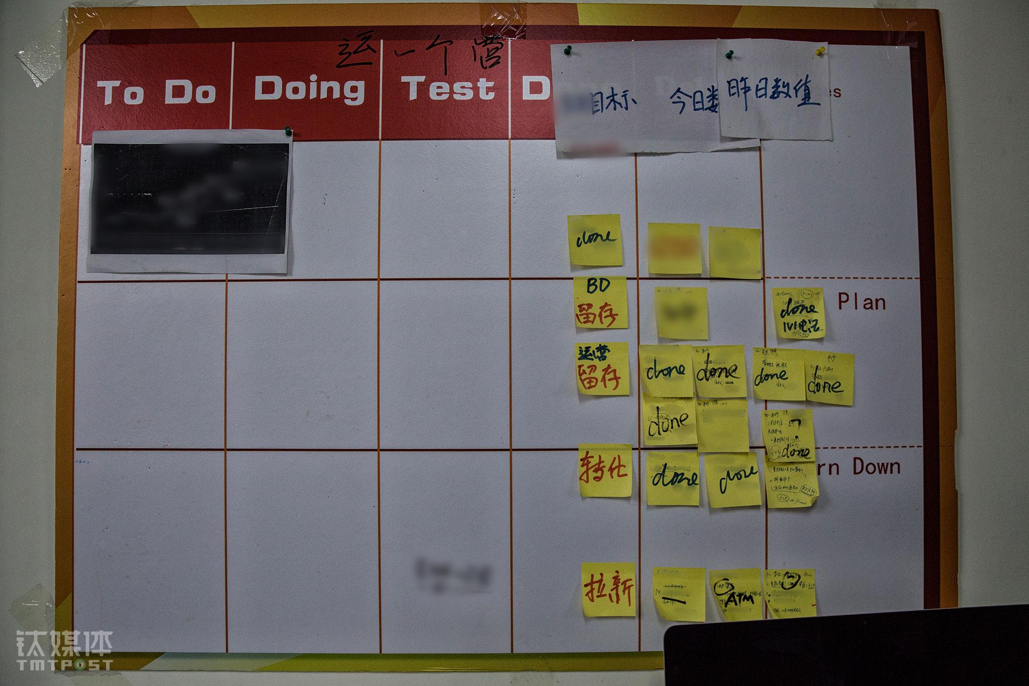 """公寓墙上,钉钉App团队留下的进度,便签上写满了done的字样。每个到这间屋子的项目,都顶着阿里重点项目的光环,每个参与的人,也会承受着的不一样的压力:""""每个人都知道,这间屋子里,就没有失败过的项目,前人的成绩都摆在那里了,我们拼了命也要做成啊。"""" 钉钉VP、硬件团队负责人易统告诉钛媒体《在线》,硬件团队扮演着钉钉开拓者的角色,要推进钉钉的软硬件一体化,推动中小企业以更加酷的方式智能办公,""""这是我们这个小团队的一份荣耀,也是钉钉对我们的一种信任。"""""""
