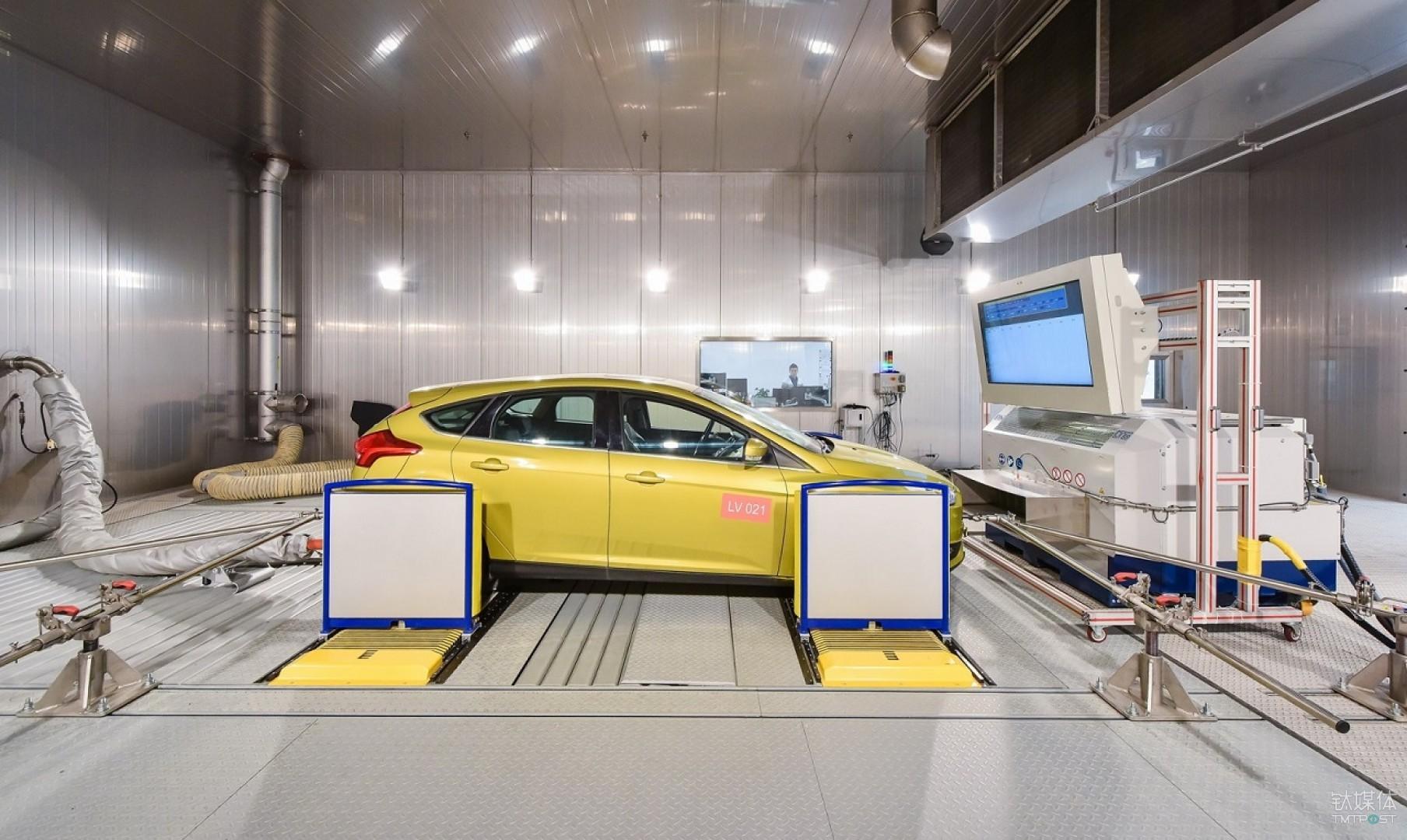 整车排放实验室测试车辆污染物排放和燃油消耗量,确保车辆尾气排放符合中国法规并具有良好的燃油经济性