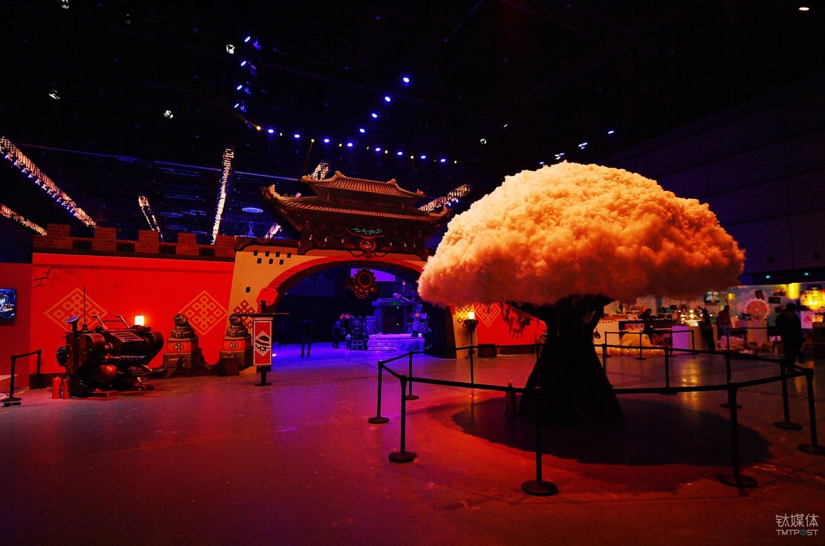 """DNF嘉年华上的微缩世界""""许愿树"""""""