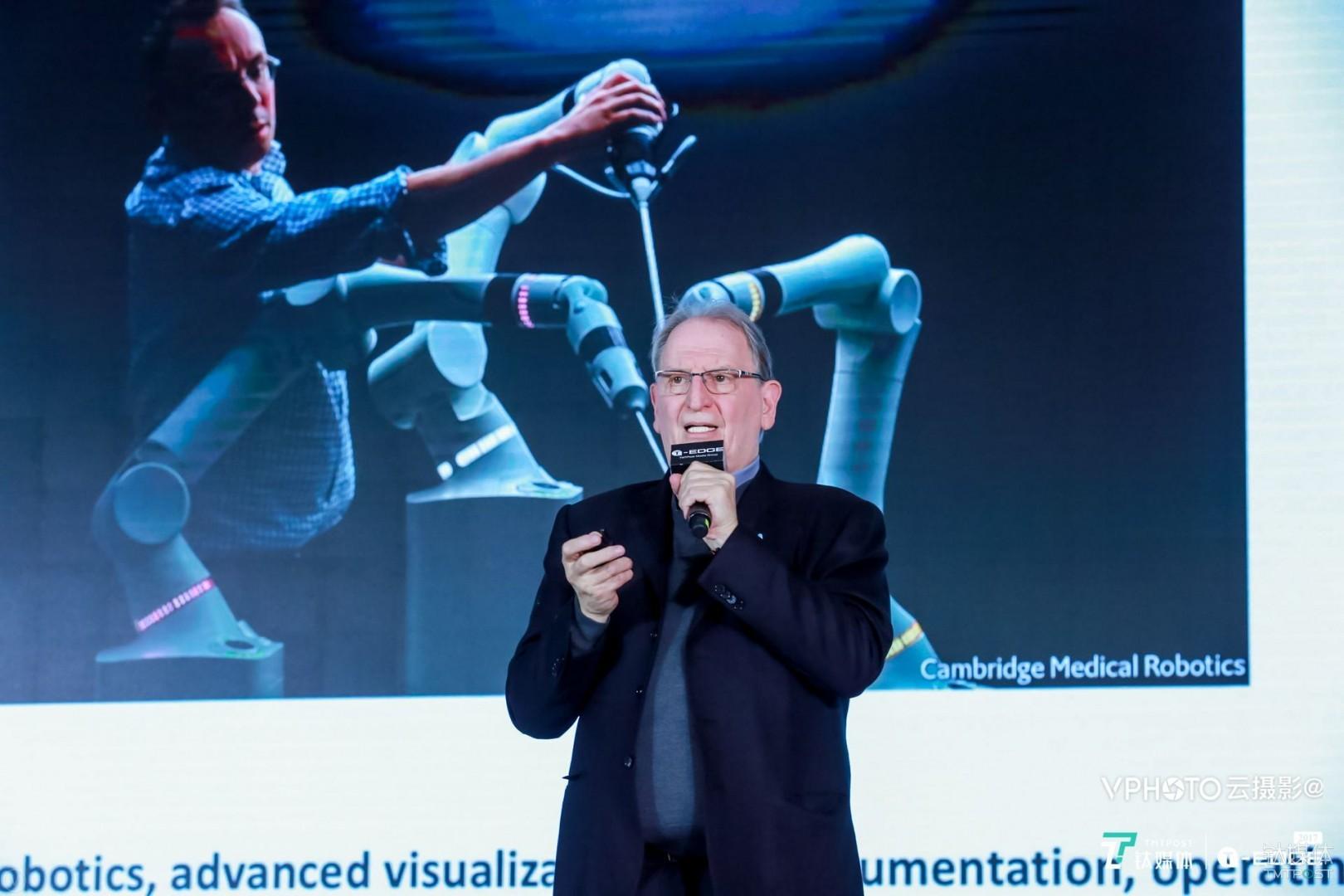 "More Health创始人Robert Warren在""2017钛媒体T-EDGE年度国际盛典"""