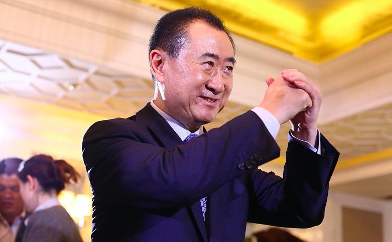 万达集团董事长王健林,题图来源:视觉中国
