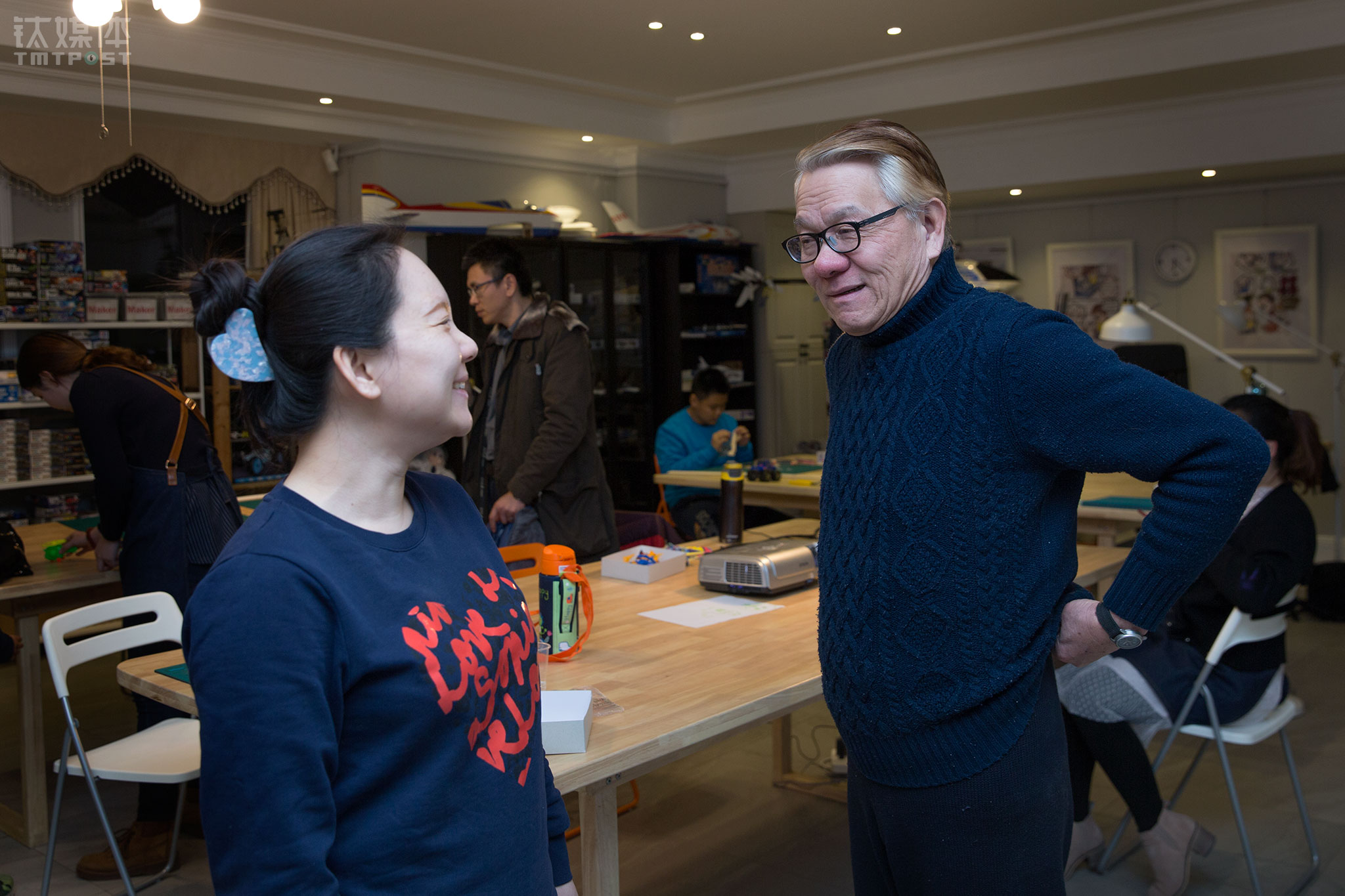 """""""我们能做到今天,要很感谢北京的小朋友们""""。回想起刚到北京那段东奔西走的日子,郑富德非常感恩。"""