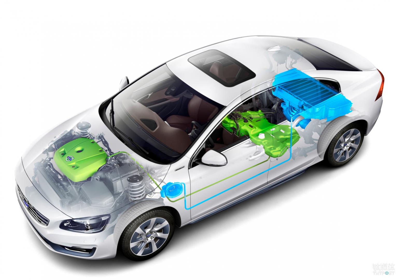 沃尔沃S60L插电式混合动力汽车
