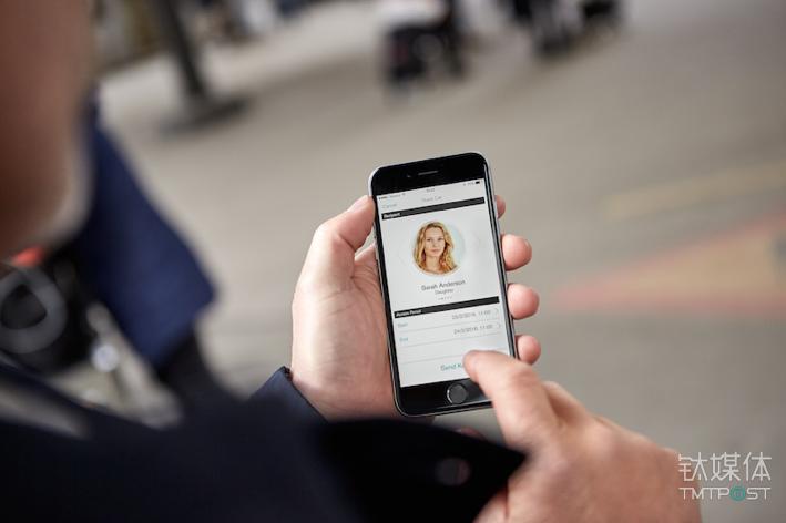 通过手机app分享沃尔沃汽车给他人使用