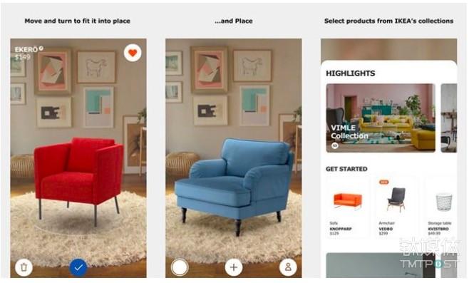IKEA Place:可以让你看到家具被放到家里的样子