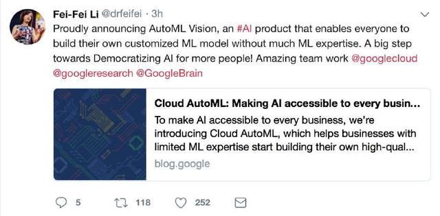 谷歌搞事情,最先被AI淘汰的居然是做AI的?