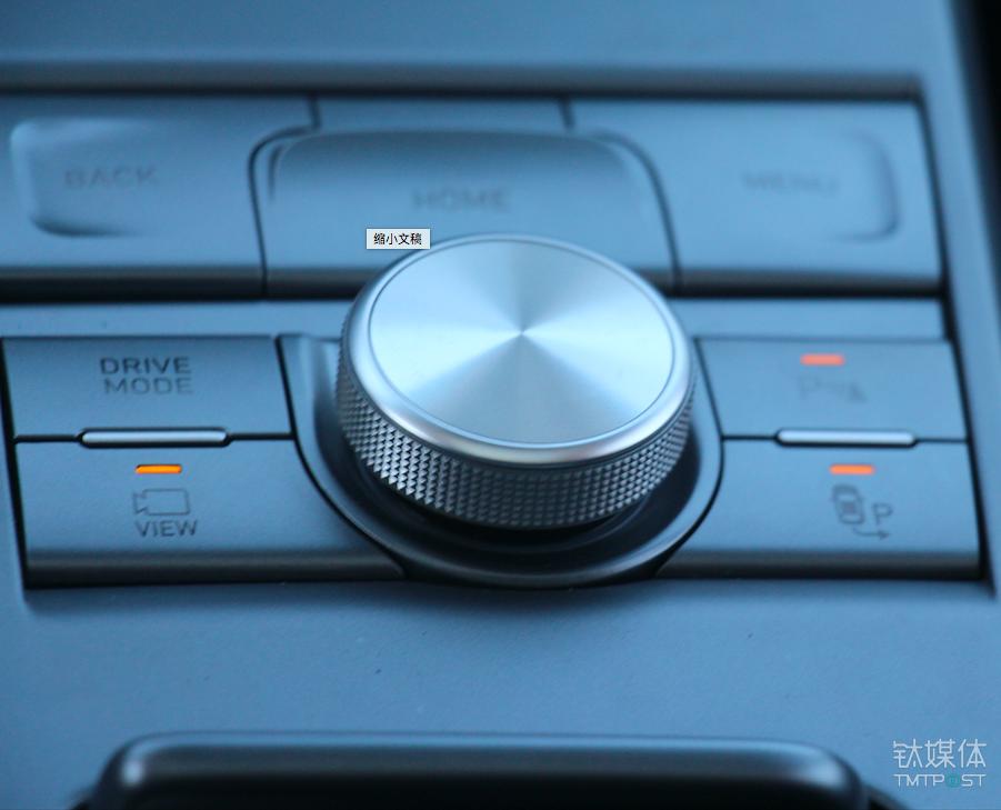 可在此开启车位查找功能,并按下旋钮确定开始泊车辅助