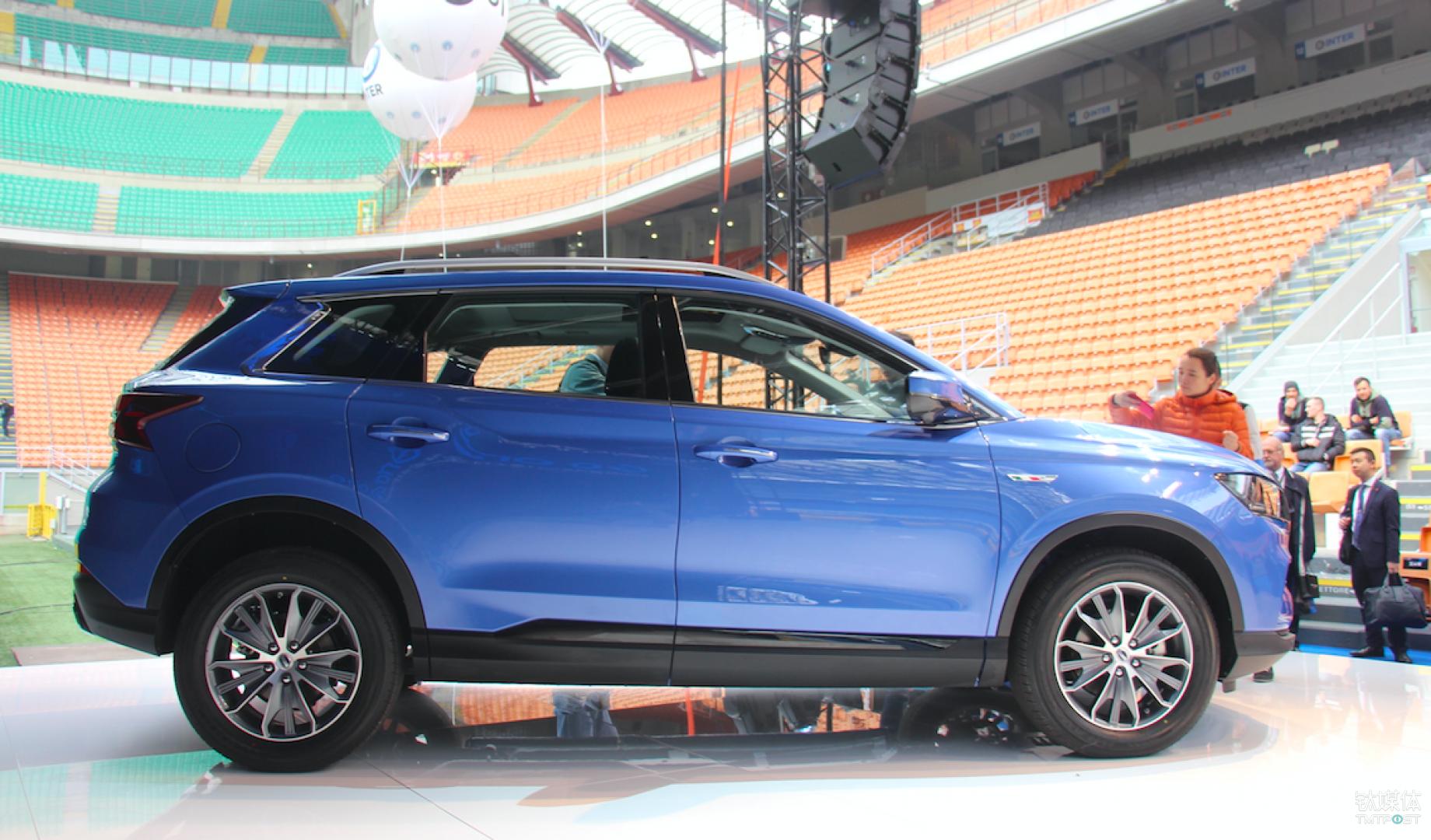 swm斯威汽车g01在百年梅阿查球场首发,要用意式美学冲击高端市场