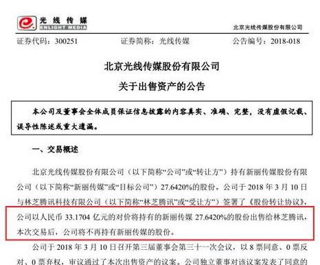 騰訊33.億元入股新麗,這是一筆三贏交易?